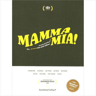 SF9 - Mamma Mia! 4th Mini Special CD+Booklet+SelfieCard+Film Bookmark Sealed