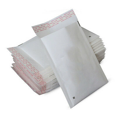 *All Sizes*Bubble Mailers Self Seal Kraft Padded Envelopes Shipping Bags Packing