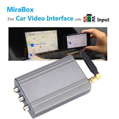 Car Auto 2.4GHz Wifi Miracast Screen Mirroring For IOS Android Display