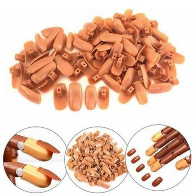 UK Nail Training Hand 100 Replacement Tips Displays Practice Trainer
