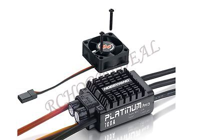 Hobbywing Platinum 100A V3 Pro ESC w/ bec for RC Aircraft EDF Jets Helicopter 6S