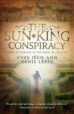 Sun King Conspiracy by Yves Jego Paperback Book Free Shipping!