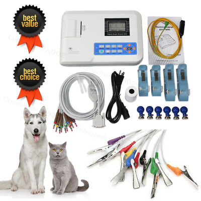 Veterinary Digital single channel  ECG machine Electrocardiograph EKG Monitor