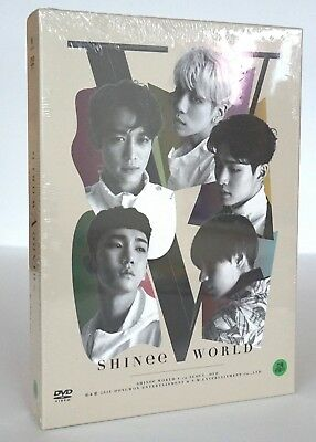 Shinee : WORLD V in Seoul DVD 2DISC+6Photocards Sealed