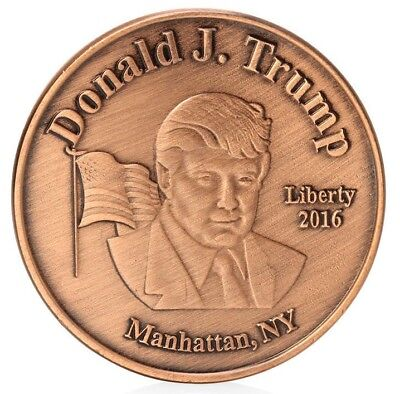 Donald Trump Commemorative 45th President 1 oz.Special Collectors Art Coin