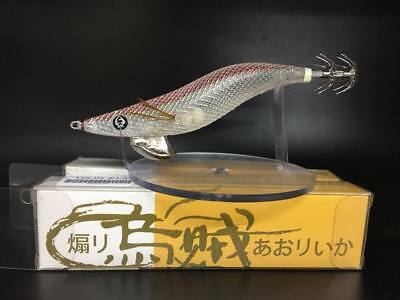 RUI SQUID JIG Y.E.S REVENGE Clear White UV RED FOIL BACK  GLOW RATTLE SIZE 3.0