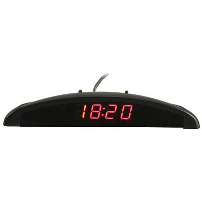 3In1 Auto Car 12V Digital LED Voltmeter Spannung Temperatur Uhr Thermometer Kfz,