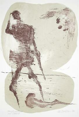 THEO BALDEN - Tanzfiguration am Strand - Lithografie - 1990