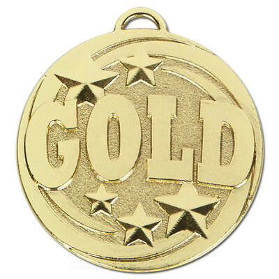Gold,Silver or Bronze Medals 50 mm   Free Engraving up to 30 Letters + Ribbon