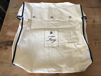 Used - Bag Cover FAY Funda Bolsa - Cream color - 40 x 39 x 10 cm - Usado