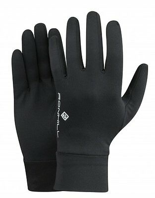 Ronhill Classic Glove Outdoor Pursuits Fitness Running Soft Warm Black Glove