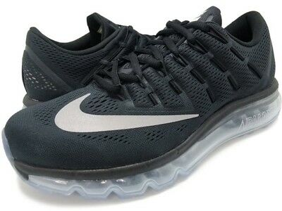 NIKE AIR MAX 2016 Black Men's running shoes 806771 001 Size 9 exclusive new