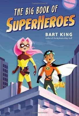 The Big Book of Superheroes, Greg Paprocki, Bart King, New Book