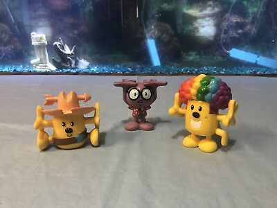 Wow Wow Wubbzy PVC Figure Lot Of 2