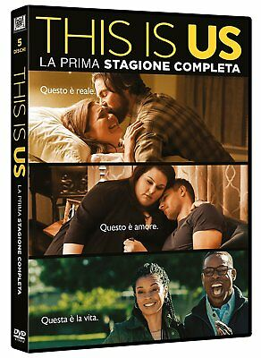 This Is Us - Stagione 1 (5 Dvd) Nuovo, Italiano, Originale