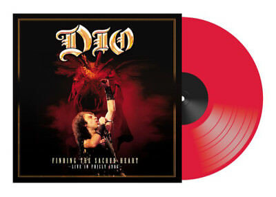 DIO - FINDING THE SACRED HEART, 2018 UK RECORD STORE DAY RED vinyl 2LP, SEALED!