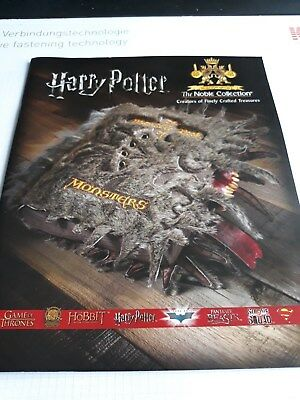 2018 Katalog Noble Collection Merchandise Harry Potter, Game of Thrones, Hobbit