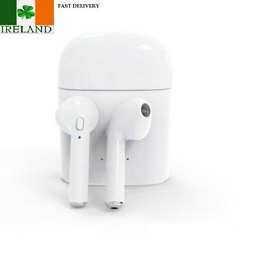 In Ear Wireless Bluetooth EarPods i7S TWS Earbuds iPhone Samsung Charging Box