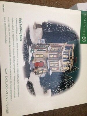 Department 56 New England Village Series Hale and Hardy House
