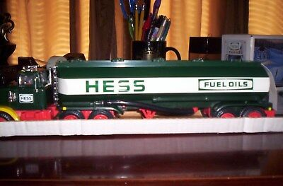 1984 Hess Truck, Box And Inserts, For Parts Or Restore