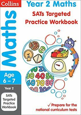 Year 2 Maths SATs Targeted Practice Workbook 2018 tests Collins KS1 Revision a