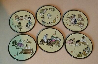 Korea Best Collection Coasters~ Korean Life Depictions Coasters ~ Made in Korea