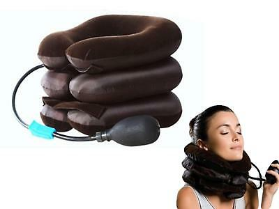 New Neck Pillow Inflatable Air Cushion  Rest Supports for Travel & Home