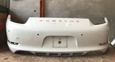 2012 2013 2014 2015 2016 Porsche CARRERA S Rear Bumper Cover OEM