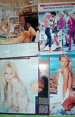 PAMELA ANDERSON lot private spanish collection very rare magazine cover revistas