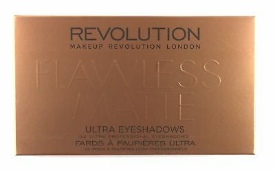 Makeup Revolution Ultra 32 Shade Eyeshadow Palette Flawless Matte, 16 G