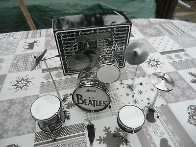 Miniatur Schlagzeug Set Ludwig,The Beatles,Ringo Starr