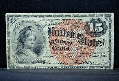 15C Fractional Currency ✪ Vf Very Fine ✪ 4Th Issue Cent L@@k Now E22 ◢Trusted◣