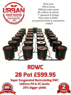 28 Pot 20L System 4Lane For Grow Size 3.5 x 2m Autopot DWC RDWC IWS  Deep Water