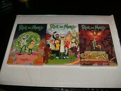 Rick and Morty season 1-3 one two three Brand new sealed 1 2 3 free shipping DVD