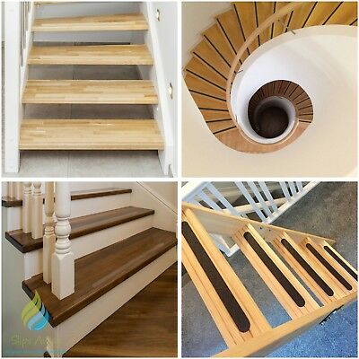 Stair Treads Anti Slip Tape High Grip Adhesive Backed Non Slip Strips