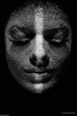 """Kunstfoto The Art of Ulrich H.M.Wolf """"Faces"""""""