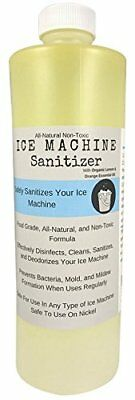 Ice Machine Cleaner Sanitizer 16 oz Nickel-Safe Non-Toxic FREE SHIPPING