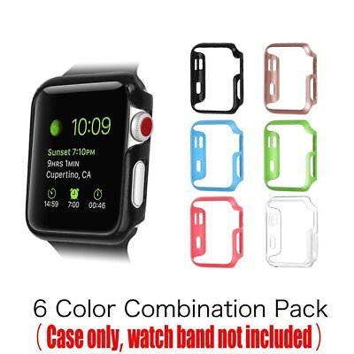 Apple Watch Case Cover Protector 42mm Protective Bumper iWatch Silicone set of 6