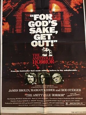 The Amityville Horror Original One Sheet Movie Poster 1979 27x41