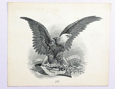American Bank Note Co. Proof Vignette of Eagle 1899 Silver Certificate {DO279B}