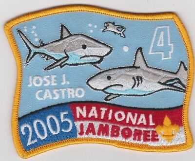Boy Scouts National Scout Jamboree Patch 2005 Subcamp 4