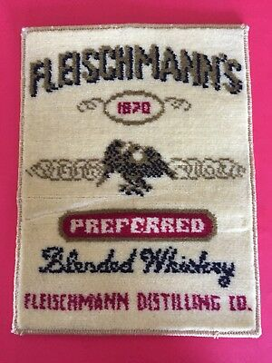 Vintage Fleischmann's Preferred Blended Whiskey Mat 17 1/2 x 14