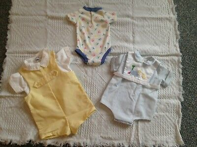 Vintage Baby Clothes 1950s 1980s Lot of 7 adorable LOOK Carter Good Lad +++