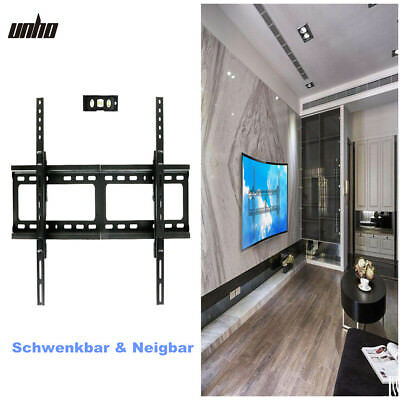 tv wandhalterung led 4k curved tv neigbar schwenkbar fernseher halter 26 75 eur 26 89. Black Bedroom Furniture Sets. Home Design Ideas