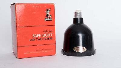 lot of 2 Yankee 15 watt Darkroom Safelight in Original Box's