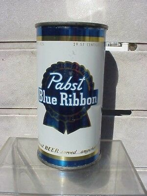 TOUGH Pabst Blue Ribbon 10 oz FT beer can    EXC condition  Milwaukee Wi