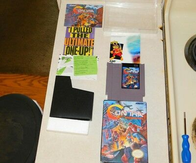 d1be48daa796 CONTRA FORCE NES CIB VERY RARE AND 100% AUTHENTIC Very Good Condition