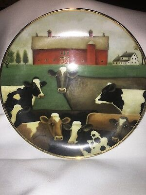 Franklin Mint Lowell Herrero American Folk Art Collection Collector Plates