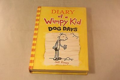 Diary of a Wimpy Kid - Dog Days Hardcover