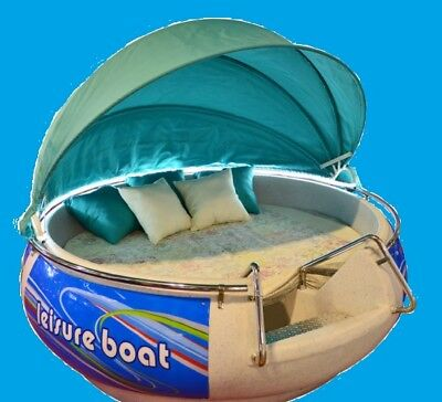 Brand new Unique circular BED BOAT 8.2 feet popular as RENTAL also Sun tanning.